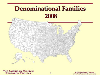 Denominational Families 2008 Presentation Free Download